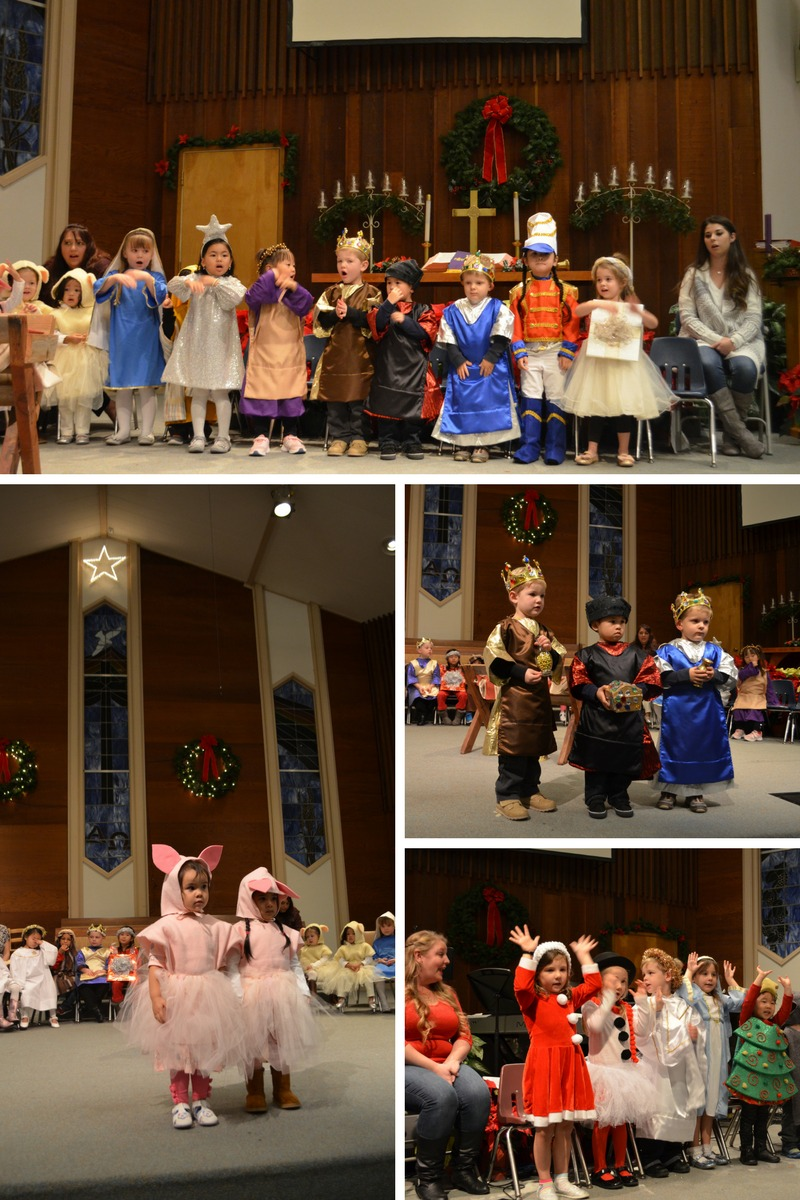 Joy Preschool Dublin CA Christmas program Preschool Dublin California