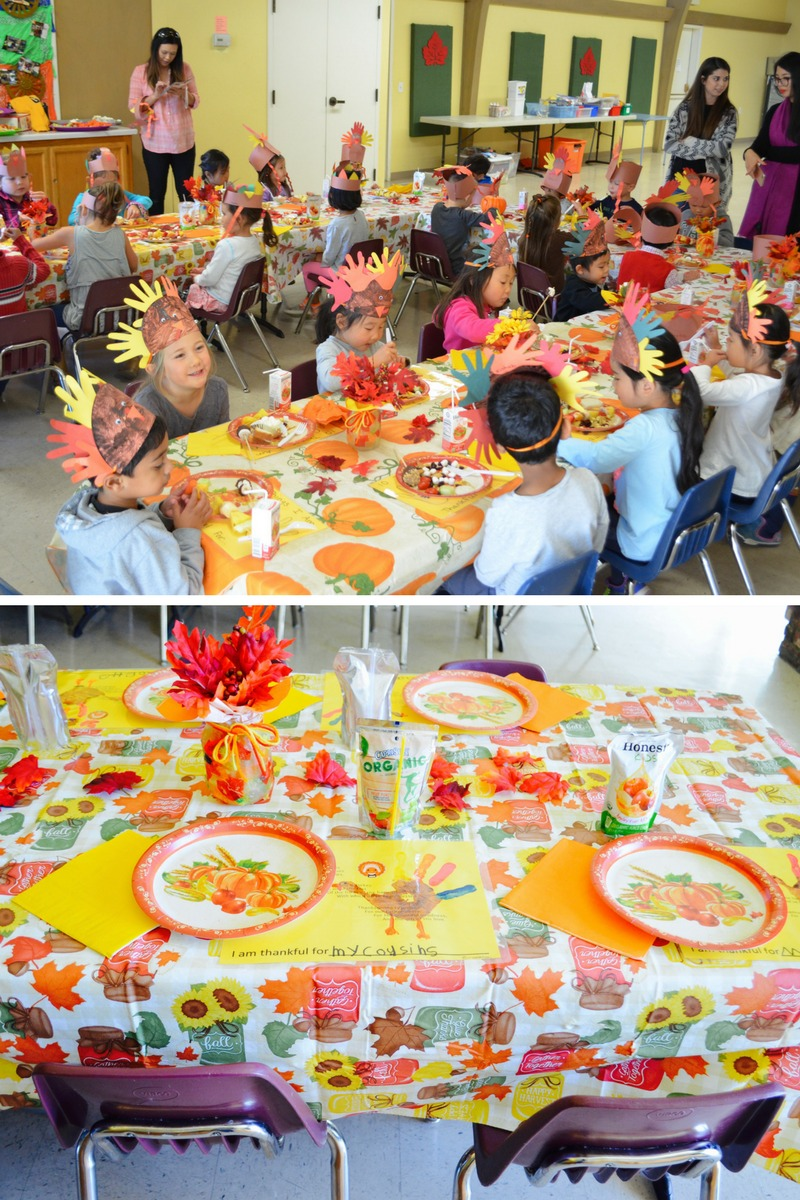 Joy Preschool Dublin California Thanksgiving Celebration