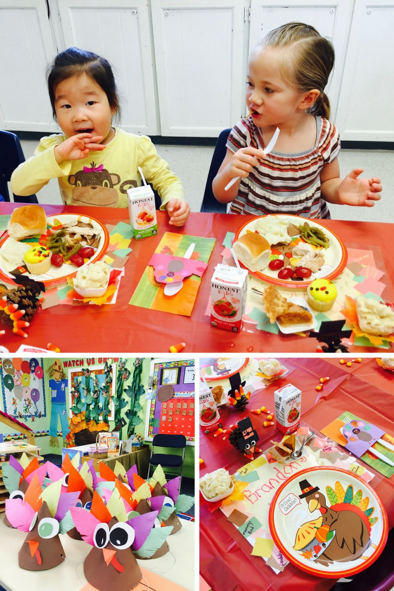 Outstanding Owls Thanksgiving Party 2015 Dublin California Preschools Joy Preschool