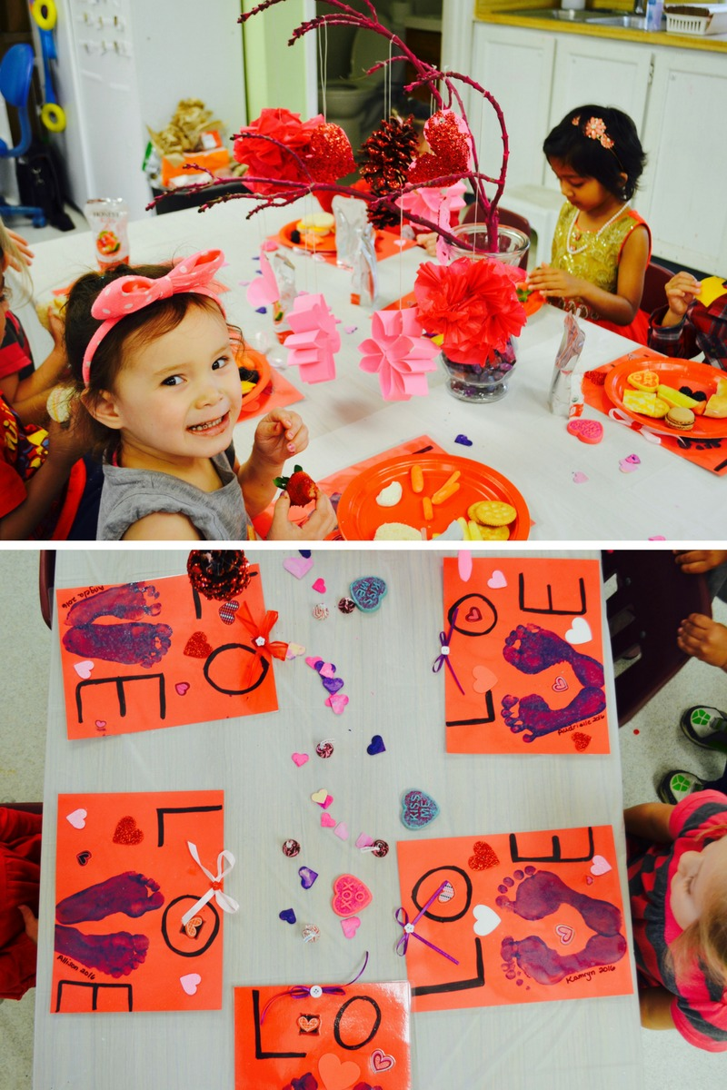 Outstanding Owls Valentine's Day Party celebration Dublin California Preeschool Joy Preschool
